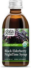 Gaia Black Elderberry NightTime Syrup