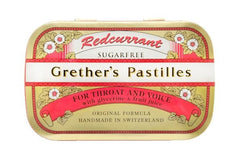 Grether's Pastilles for Throat and Voice - Sugarfree - Redcurrant