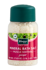 Kneipp Muscle Soothing Mineral Bath Salt with Juniper