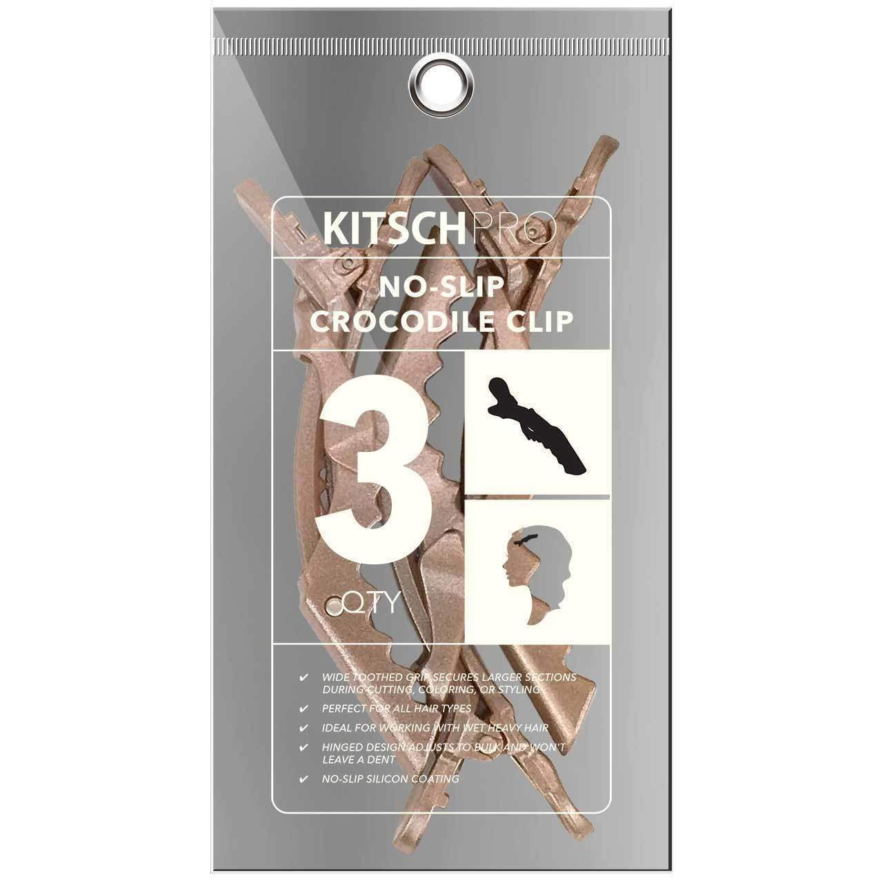 Kitsch Pro Crocodile Clips Gold (Set of 3)
