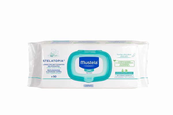 Mustela Baby Stelatopia Cleansing Wipes