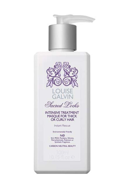 Louise Galvin Sacred Locks Intensive Treatment Masque for Thick or Curly Hair