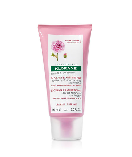 Klorane Soothing & Anti-Irritatating Gel Conditioner with Peony for Sensitive & Irritated Scalp