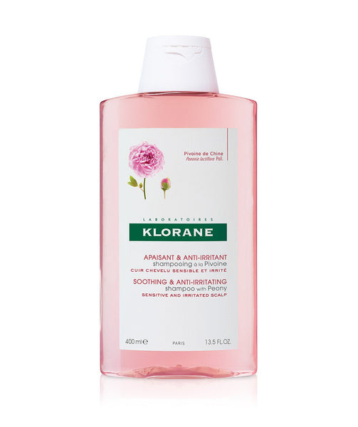 Klorane Soothing & Anti-Irritating Shampoo with Peony for Sensitive & Irritated Scalp