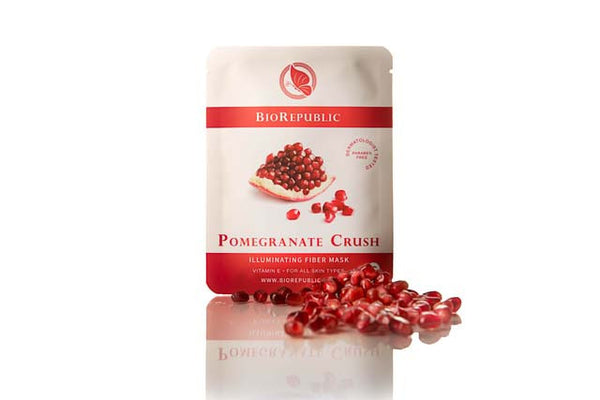 BioRepublic Pomegranate Crush Illuminating Sheet Mask