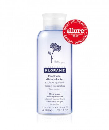Chlorine Floral Water Make-up Remover with Soothing Cornflower