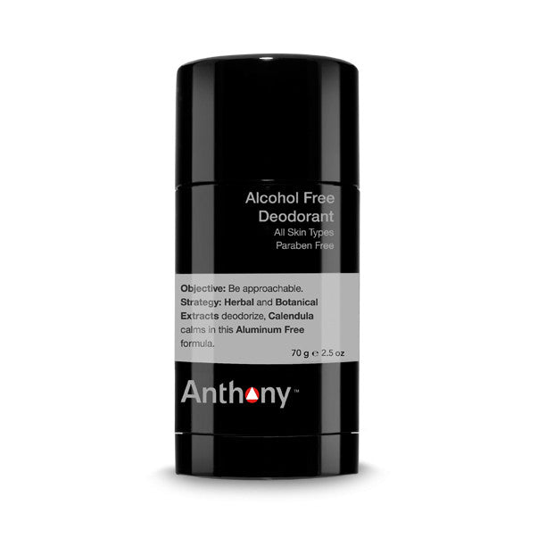 Anthony Alcohol Free Deodorant, Deodorants - New London Pharmacy