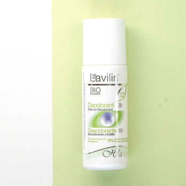 L'avilin Bio Balance Fragrance Free 48h Underarm Deodorant Roll-On
