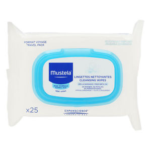 Mustela Cleansing Wipes Travel Pack