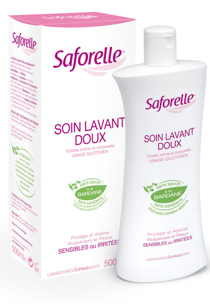 Saforelle Gentle Cleansing Care Body and Intimate Hygiene Daily Use