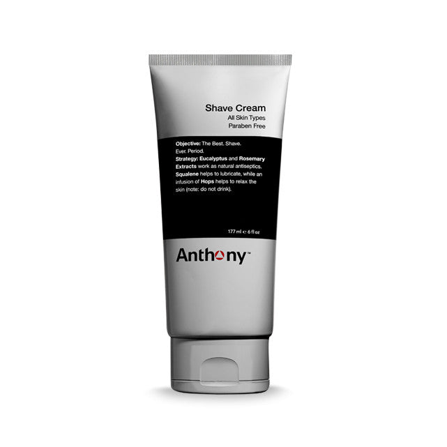 Anthony Shave Cream for All Skin Types, Shaving & Beard - New London Pharmacy