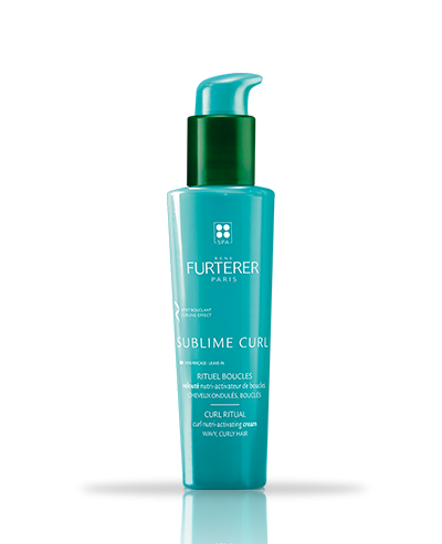 Shop Rene Furterer Paris Sublime Curl Nutri-Activating Cream at New London Pharmacy. The silicone-free formula with an irresistibly creamy texture nourishes and perfectly shapes curls while providing lasting frizz protection. The hair remains silky and the curls perfectly defined from morning to evening.