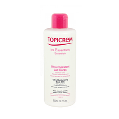 Topicrem Ultra-Moisturizing Body Milk for Sensitive Skin, Body Lotion - New London Pharmacy