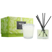 Nest Bamboo Candle and Diffuser Set