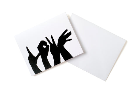 Baltimore Love Project Note Cards, Pack of 10