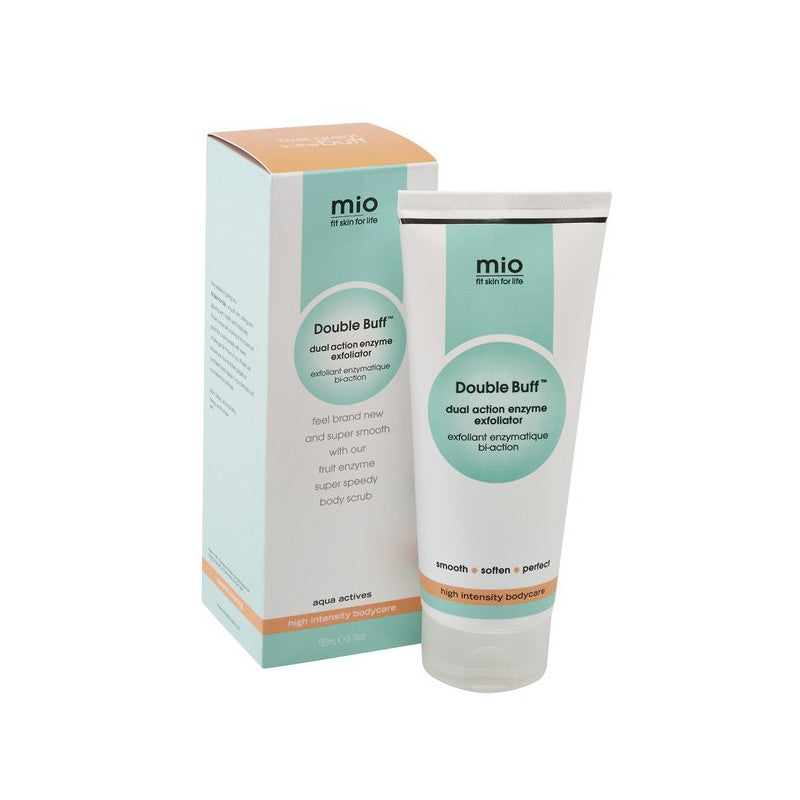 Mio Double Buff Dual Action Enzyme Exfoliator at Bella Sante Spas