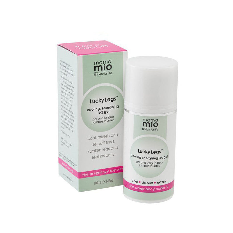 Mama Mio Lucky Legs Cooling Leg Gel at Bella Sante Spas