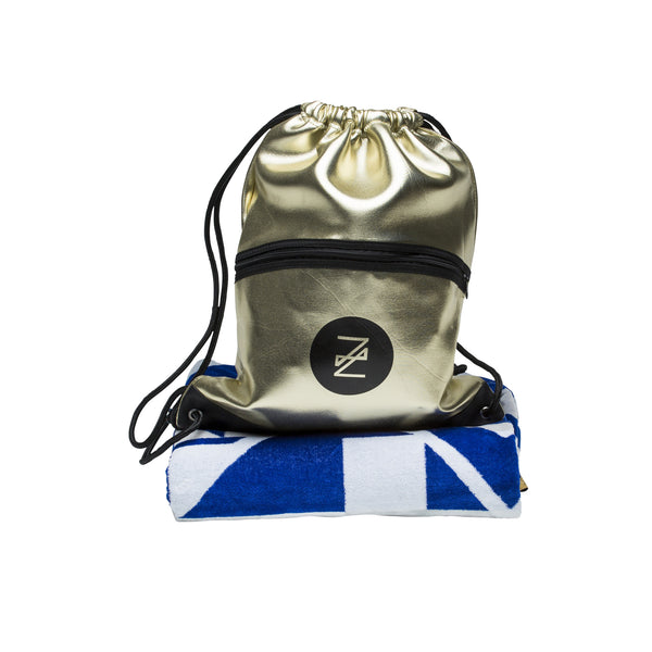 Apollo Beach Towel and Halcyon Backpack Set