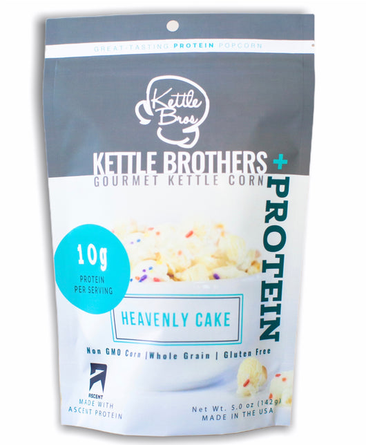 Heavenly Cake - PROTEIN POPCORN