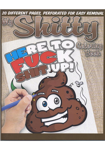 My Shitty Coloring Book