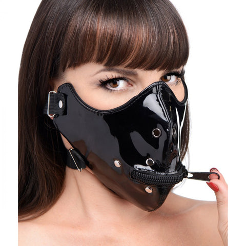 Lektor Zipper Mouth Muzzle Mask- Divine Triixz