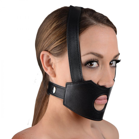 Face Fuk II Dildo Face Harness Strap on- Divine Triixz