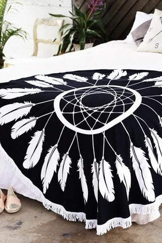 Dream Catcher Fringe Towel