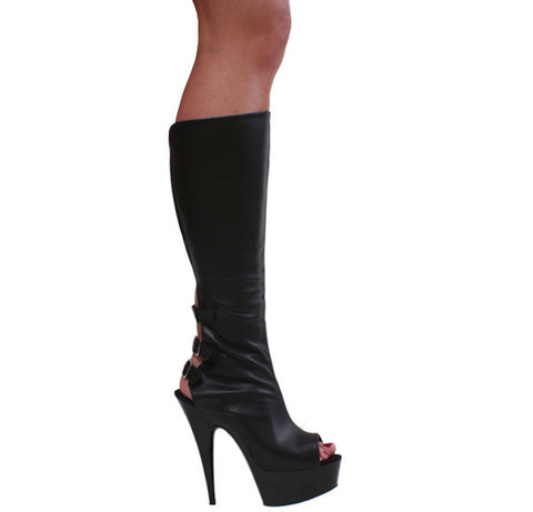 3243-Knee High Heels- Divine Triixz