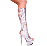 3265-Knee High Heels- Divine Triixz