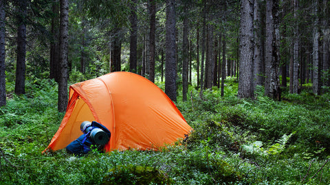 care for your tent orange