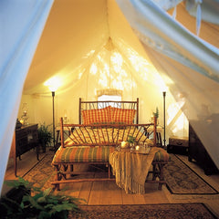 Great Outdoors Month glamping weekend