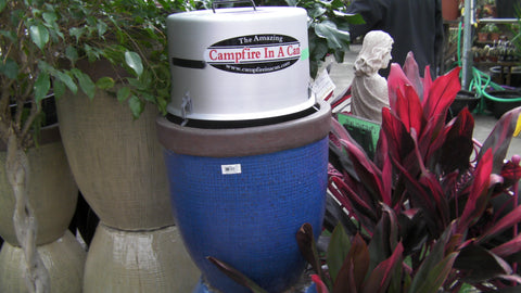 campfire in a can flower pot diy