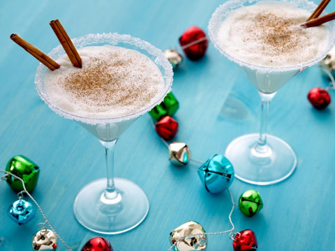 holiday cocktails santas sleigh