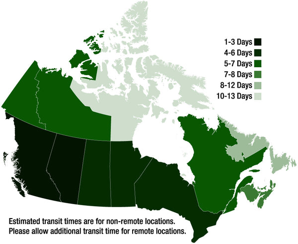Campfire In A Can Canada Shipping Map