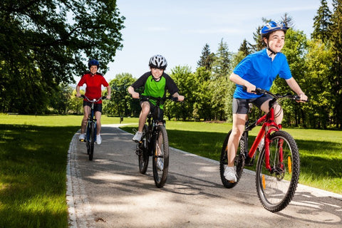 outdoor activities for kids riding bikes