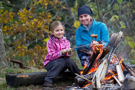 october best month cold weather camping