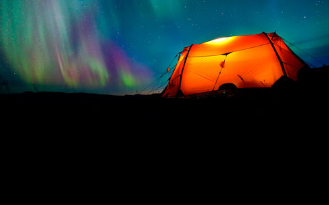 care for your tent northern lights