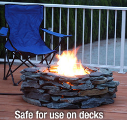 campfire in a can deck patio project