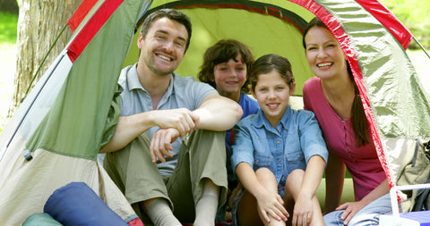 care for your tent family camping