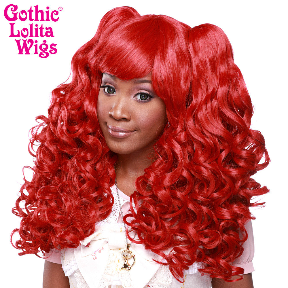 Gothic Lolita Wigs® <br> Baby Dollight™ Collection - 00014 Red Mix
