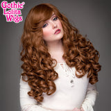 Gothic Lolita Wigs® <br> Spiraluxe 2™ Collection - Cinnamon Swirl -00127
