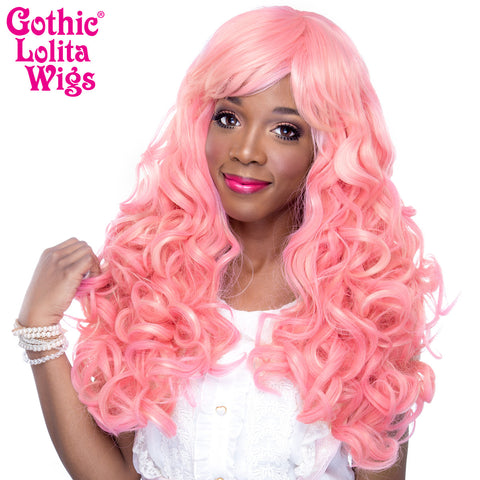 Gothic Lolita Wigs® <br> Spiraluxe 2™ Collection - Pinkie -00129
