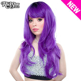 RockStar Wigs® <br> Uptown Girl™ Collection - Purple -00137