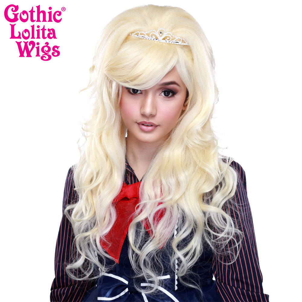 Gothic Lolita Wigs® <br> Countess™ Collection - BLANCHE (Platinum Blonde Mix) -00144