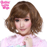 Gothic Lolita Wigs® Gamine Collection - Golden Chestnut Brown -00402