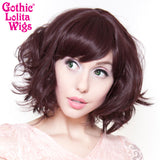 Gothic Lolita Wigs® Gamine Collection - Black Mahogany Burgundy Mix -00400