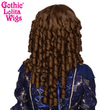 Gothic Lolita Wigs® <br> Ringlet Redux™ Collection - Chestnut Brown Mix - 00503