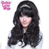 Gothic Lolita Wigs® <br> Princess™ Collection - Masako (Black) -00368