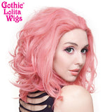 "Lace Front 14"" Shag - Milk Shake Pink Mix -00797"