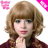 Gothic Lolita Wigs® Bon Bon Collection - Honey Milk Tea - 00489